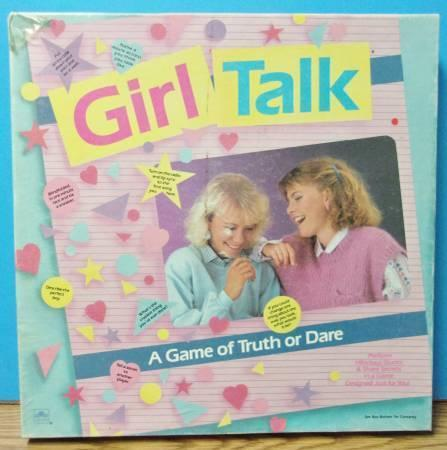 1988 Girl Talk-A Game of Truth or Dare Collectible
