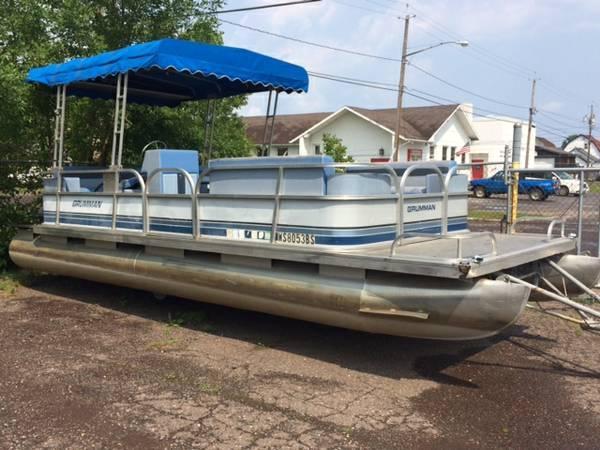 1988 Grumman 23' pontoon - $4295
