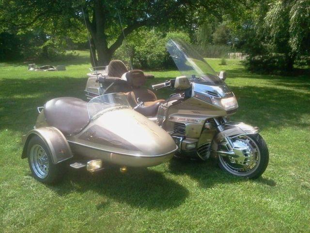 1988 honda goldwing with sidecar for sale in lima ohio classified. Black Bedroom Furniture Sets. Home Design Ideas