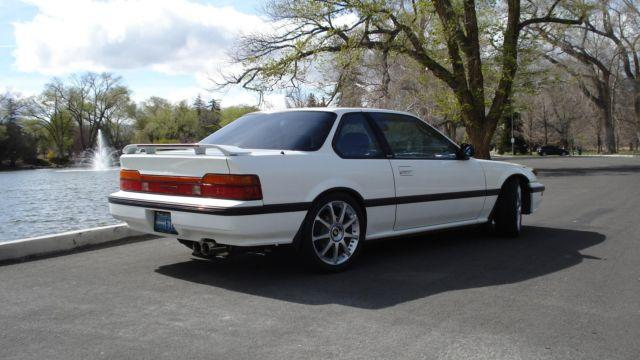 Honda Prelude Si Ws White Speed Manual K Mi Americanlisted on 1991 Honda Prelude White