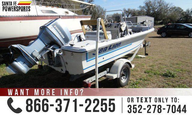 1988 Hpy Sea Lion USED BOAT