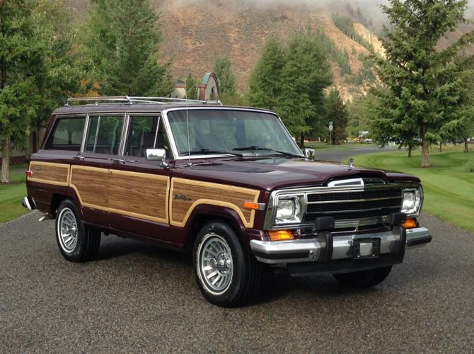 1988 jeep grand wagoneer choice color low milage for. Black Bedroom Furniture Sets. Home Design Ideas
