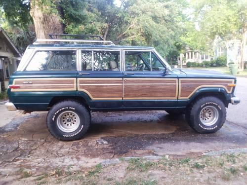 1988 jeep grand wagoneer sell or trade for sale in montgomery alabama classified americanlisted com 1988 jeep grand wagoneer sell or trade