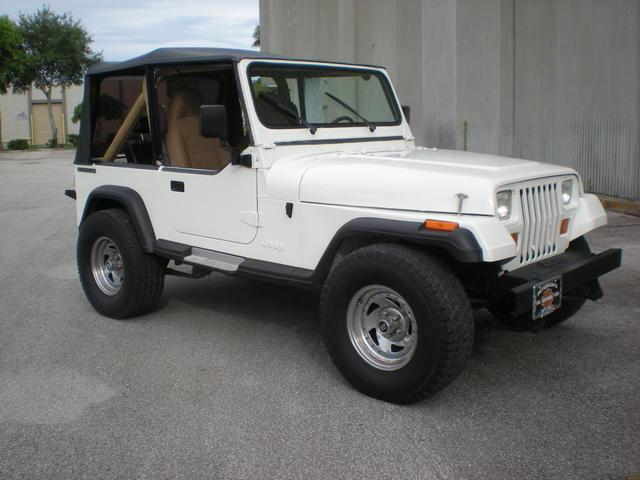 1988 jeep wrangler for sale in miami florida classified. Black Bedroom Furniture Sets. Home Design Ideas