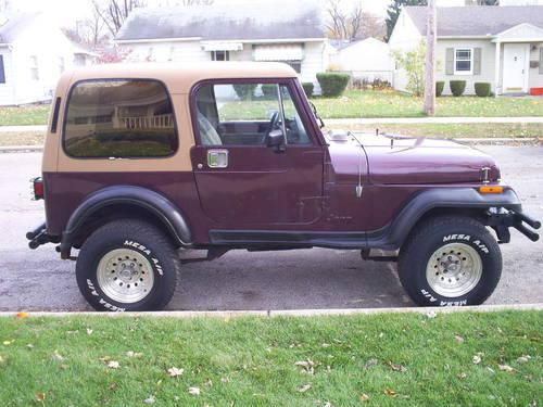 1988 jeep wrangler yj with a chevy 350ci v 8 engine for sale in mishawaka indiana classified. Black Bedroom Furniture Sets. Home Design Ideas