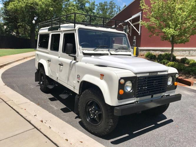 1988 Land Rover Defender 110 White