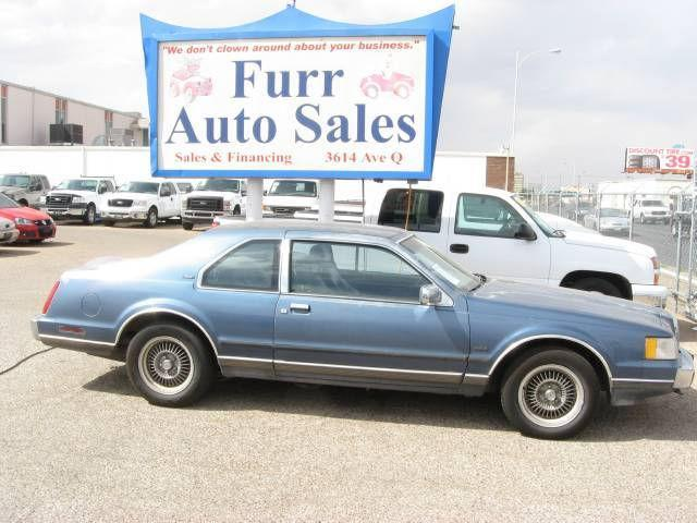 1988 lincoln mark vii lsc for sale in lubbock texas classified. Black Bedroom Furniture Sets. Home Design Ideas