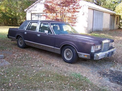 1988 Lincoln Town Car $900.00 OBO