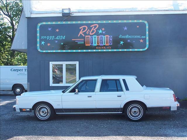 1988 Lincoln Town Car For Sale In Galva Illinois Classified