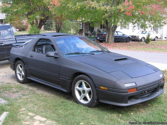 1988 mazda rx7 for sale in canton north carolina. Black Bedroom Furniture Sets. Home Design Ideas