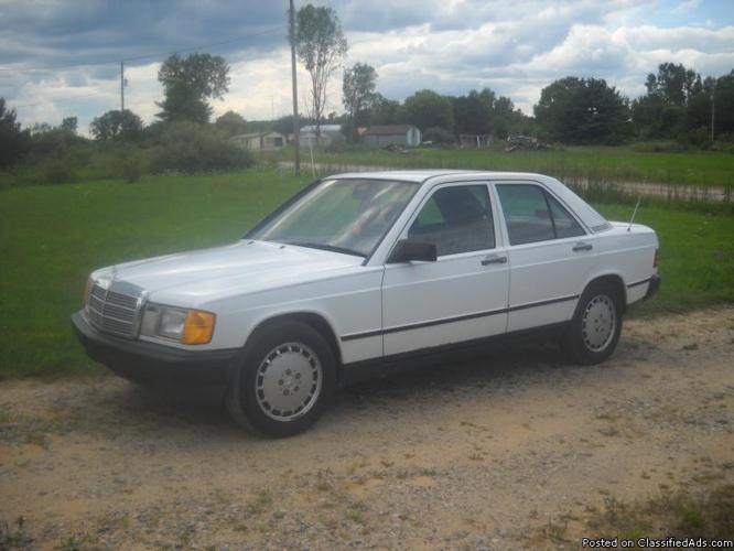 1988 mercedes benz 190e for sale in chesaning michigan for 1988 mercedes benz 190e