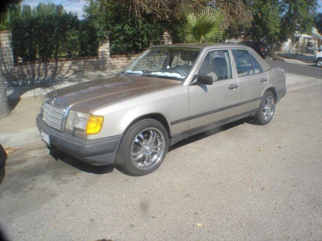 1988 mercedes benz 300e runs super nice for sale in san for Mercedes benz 300e for sale
