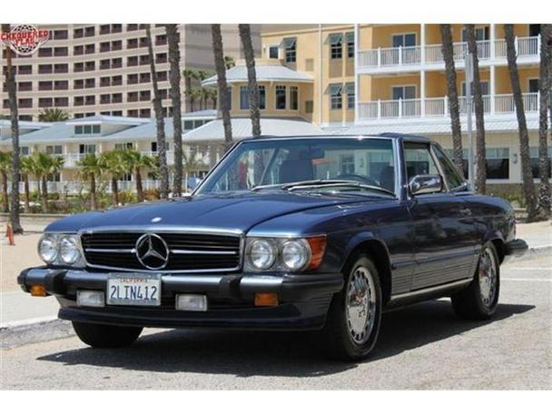 1988 mercedes benz 560 for sale in marina del rey