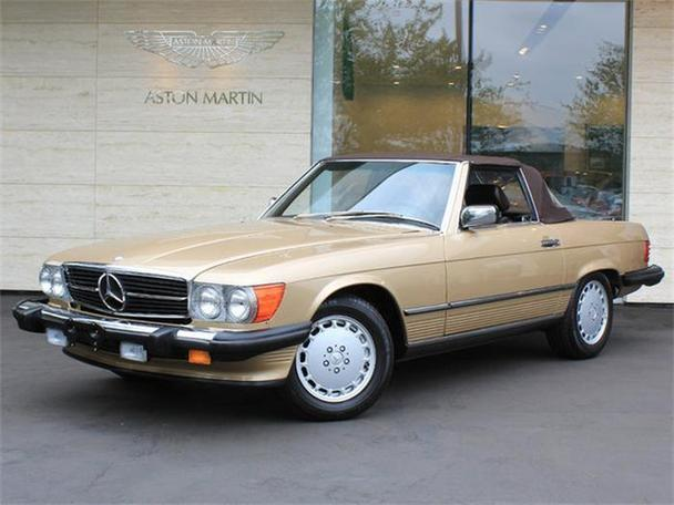 1988 mercedes benz 560sl for sale in bellevue washington for Bellevue mercedes benz