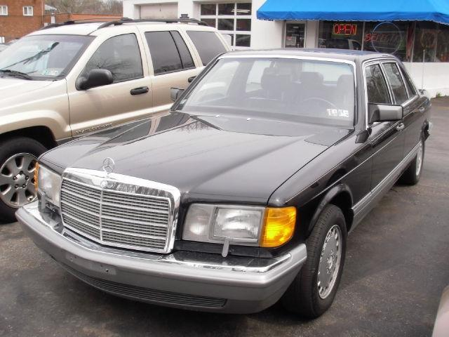 1988 mercedes benz s class 560sel for sale in pittsburgh for Mercedes benz for sale in pa