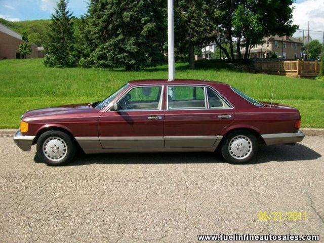 1988 mercedes benz s class 560sel for sale in pen argyl for Mercedes benz 560sel for sale