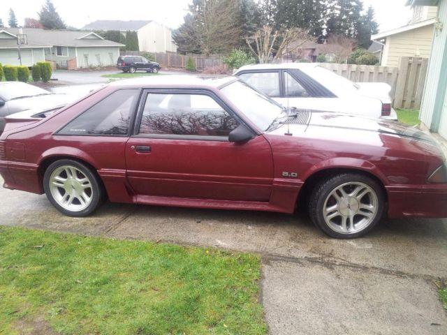 1988 mustang gt for sale in tacoma washington classified. Black Bedroom Furniture Sets. Home Design Ideas