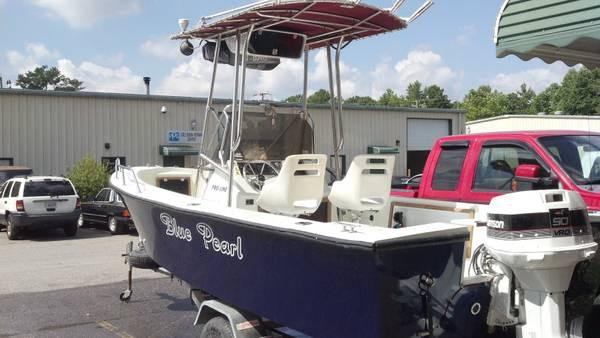 1988 proline 21 cc new everything just painted - $6000