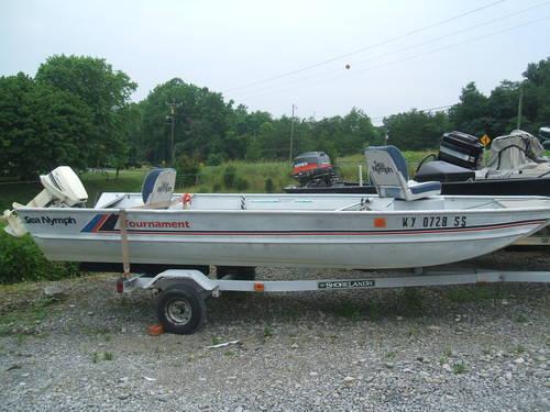 1988 Sea Nymph 15 U0026 39  For Sale In Bryan  Kentucky Classified