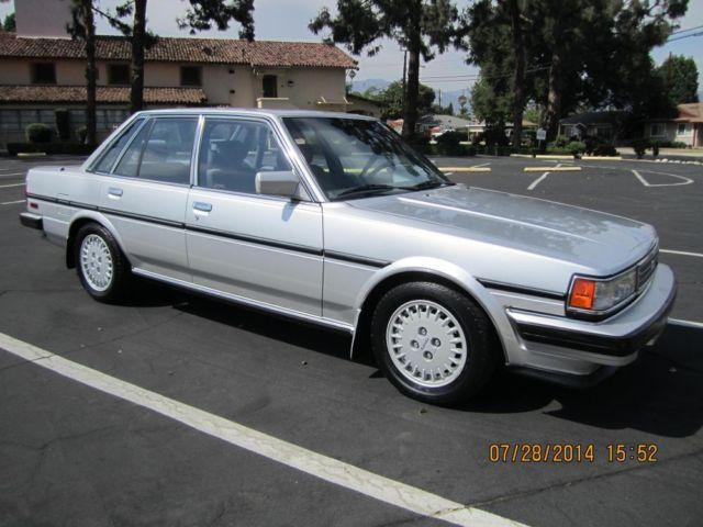 1988 toyota cressida for sale in temple city california classified. Black Bedroom Furniture Sets. Home Design Ideas
