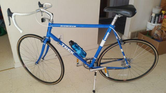 1988 Trek 1000 Aluminum Road Bicycle
