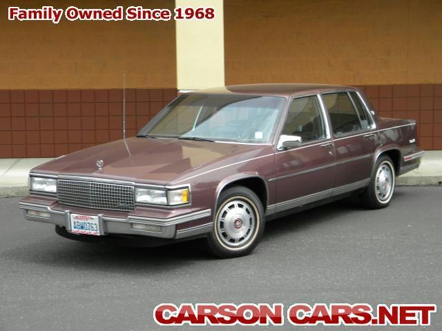 1988 cadillac deville for sale in lynnwood washington. Cars Review. Best American Auto & Cars Review