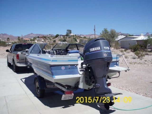 1989 17ft. BaylinerTrailer  2001 Yamaha 115 4 Stroke Outboard