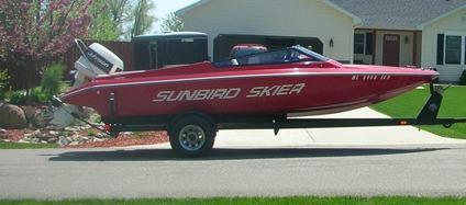 1989 20 Ft Sunbird Ski Boat For Sale In Jackson Michigan