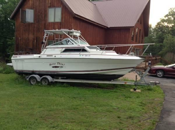 1989 27 39 Four Winns Fishing Boat For Sale In Colosse New