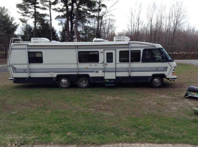 1989 33 39 Motorhome Holiday Rambler For Sale In Colosse
