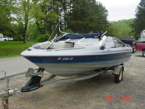 1989 bayliner 1770 capri bowrider force l drive for sale for Buy bass boat without motor