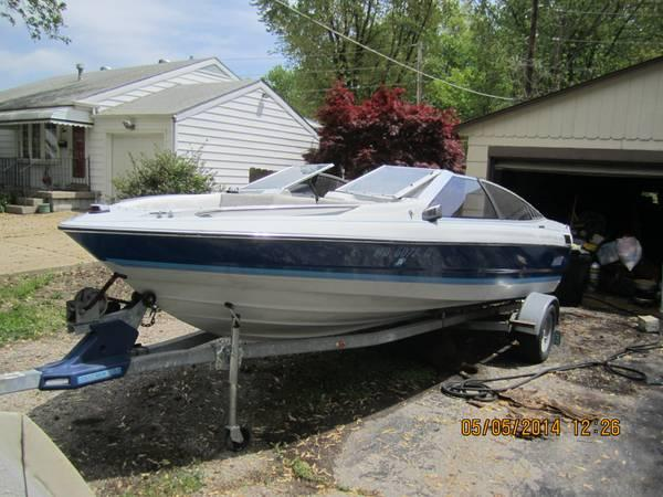 1989 Bayliner Open Bow 19ft For Sale In Florissant