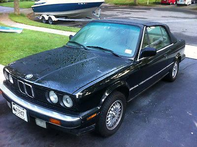 1989 bmw 325i automatic convertible for sale in milford connecticut classified. Black Bedroom Furniture Sets. Home Design Ideas