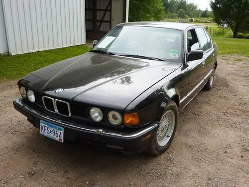 1989 bmw 750il for sale in prior lake minnesota classified. Black Bedroom Furniture Sets. Home Design Ideas