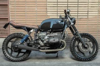 1989 Bmw R100 motorcycle custom Scrambler 1000cc