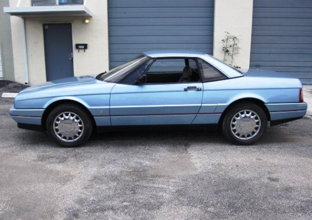 1989 cadillac allante for sale in pompano beach florida classified. Cars Review. Best American Auto & Cars Review
