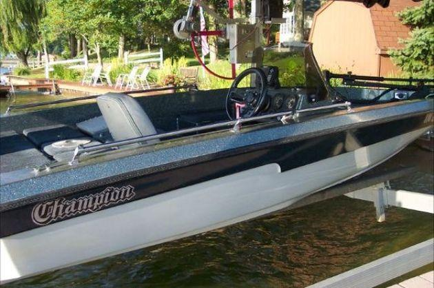 1989 Champion Bass Boat For Sale In Saint Marys  Indiana