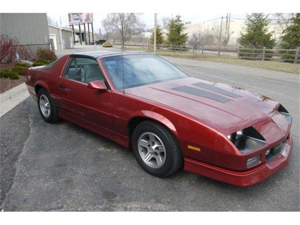 1989 chevrolet camaro for sale in lansing michigan. Black Bedroom Furniture Sets. Home Design Ideas