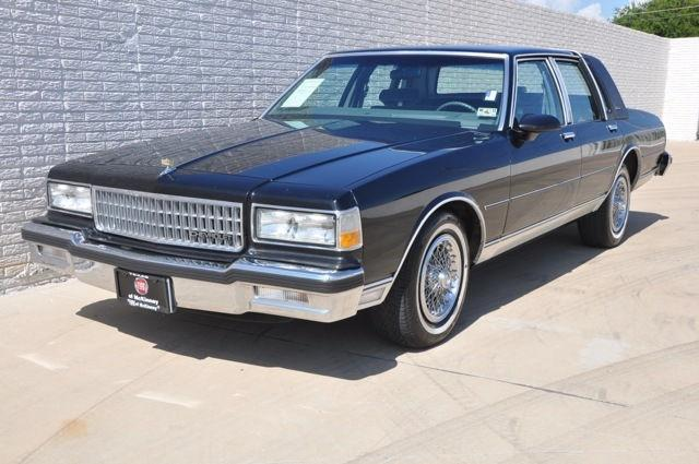 89 chevy caprice for sale