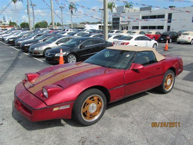 1989 chevrolet corvette for sale in fort lauderdale florida. Cars Review. Best American Auto & Cars Review