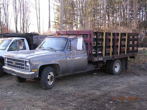 1989 chevy rack body dump truck for sale in epping new hampshire classified. Black Bedroom Furniture Sets. Home Design Ideas