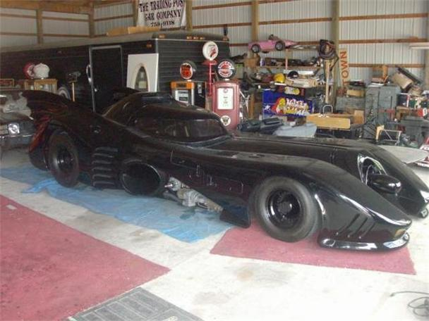 1989 custom batmobile for sale in cadillac michigan classified. Black Bedroom Furniture Sets. Home Design Ideas