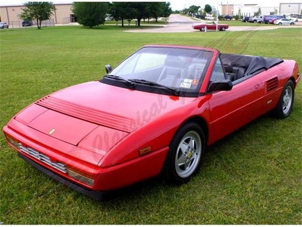 1989 ferrari mondial t 1989 ferrari mondial car for sale in arlington tx. Black Bedroom Furniture Sets. Home Design Ideas