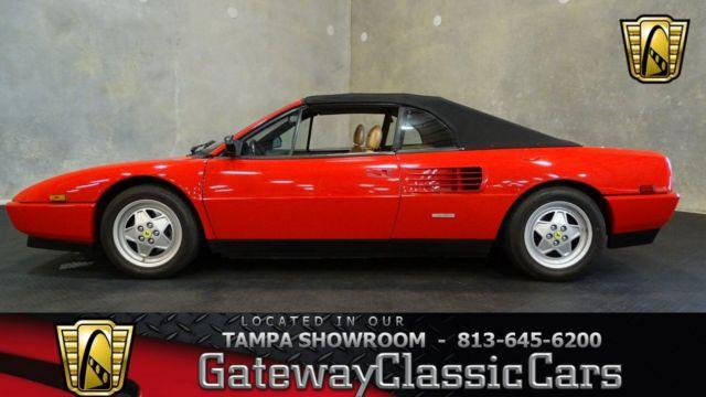 1989 ferrari mondial t cabriolet convertible 529tpa for. Black Bedroom Furniture Sets. Home Design Ideas