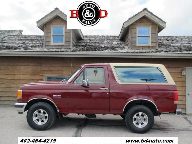 1989 ford bronco for sale in lincoln nebraska classified. Black Bedroom Furniture Sets. Home Design Ideas