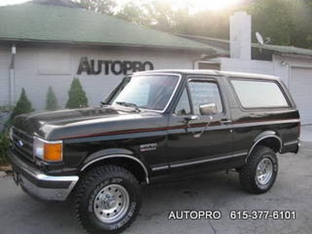 1989 ford bronco for sale in brentwood tennessee classified. Black Bedroom Furniture Sets. Home Design Ideas