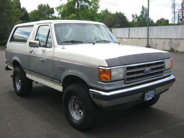 1989 Ford Bronco XLT 4x4 We Finance Trades Welcome for ...