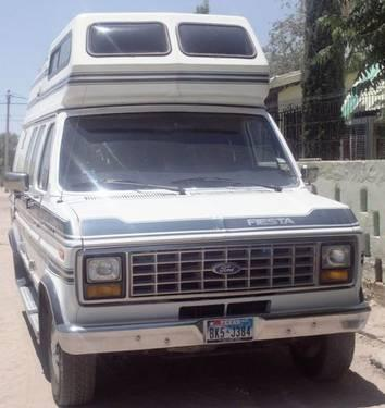 1989 ford e250 fiesta rv for sale in el paso texas for Fiesta motors el paso tx