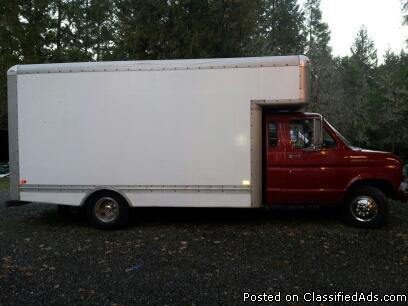 1989 ford e350 diesel box truck van for sale in rogue river oregon classified. Black Bedroom Furniture Sets. Home Design Ideas