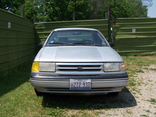 1989 ford tempo for sale in fox lake illinois classified. Black Bedroom Furniture Sets. Home Design Ideas